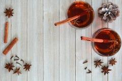 pikantności rozmyślający wino Zdjęcie Royalty Free