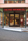 The Pike Brewing Company Seattle Wa Stock Image