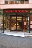 The Pike Brewing Company Seattle Wa stock image