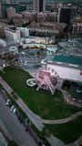 Pike Ferris катит внутри Лонг-Бич Стоковое Фото