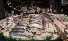 pike market miejsca owoce morza obrazy royalty free