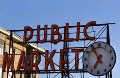 pike market miejsce zdjęcia royalty free