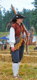 Pike musketeer Royalty Free Stock Image