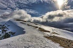 Pike Nethermost, una montaña en el distrito inglés del lago Imagen de archivo libre de regalías