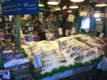 Pike Place Fish Co Royalty Free Stock Photography