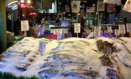 Pike Place Fish Co Stock Photo