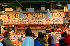 Pike Place Fish Company Royalty Free Stock Photo