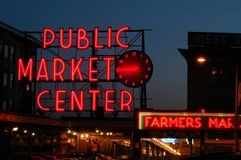 Free Pike Place Market Royalty Free Stock Photos - 1161668
