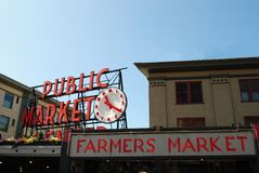 Pike Place Market Royalty Free Stock Photo