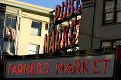 Pike Place market. Seattle farmers market Royalty Free Stock Image