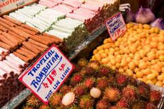 Pike Place Market. Fruit Section royalty free stock photos