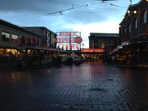 Pike Place Market Royalty Free Stock Images
