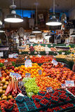 Pike Place Market in Seattle, WA Stock Image