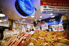 Pike Place Market in Seattle,Washington Stock Image