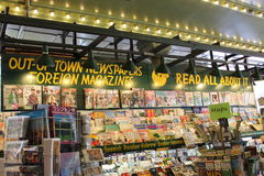 Pike Place Newstand Stock Image