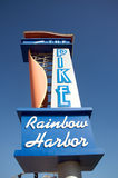 The Pike Rainbow Harbor. The new destination in Long Beach, California Royalty Free Stock Images