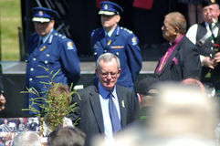 Pike River Memorial service Royalty Free Stock Image