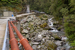 Pike River Mine Royalty Free Stock Images