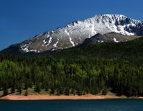 Pike's Peak Stock Images