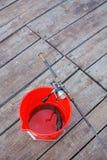 Pike, tige de rotation et bobine Photos libres de droits