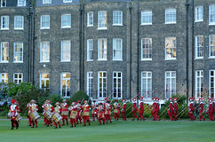Pikemen and Musketeers of the Honourable Artillery Company in Ci Royalty Free Stock Images