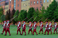 Pikemen and Musketeers of the Honourable Artillery Company in Ci Royalty Free Stock Photography