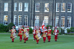 Pikemen and Musketeers of the Honourable Artillery Company in Ci Stock Photography