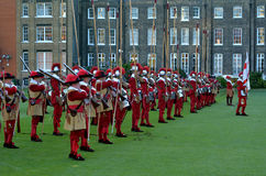 Pikemen and Musketeers of the Honourable Artillery Company in Ci Stock Photos