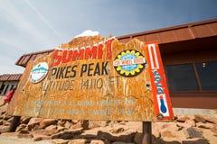 Pikes Peak Stock Photography