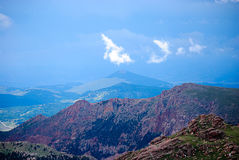 Pikes Peak Stock Image