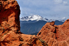 Pikes Peak Royalty Free Stock Photos
