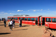 Pikes Peak Cog Railroad Stock Image