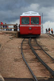 Pikes Peak Cog railroad Royalty Free Stock Photos