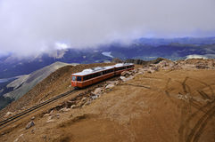 Pikes Peak Cog Railway Royalty Free Stock Image