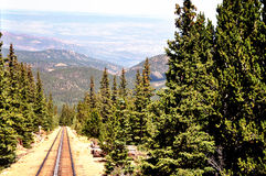 Pikes Peak Cog Railway Stock Photography