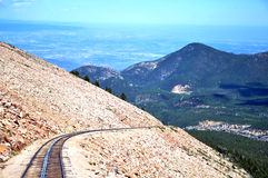 Pikes Peak Cog Railway Stock Images