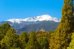 Pikes peak Stock Image