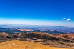 Pikes Peak Colorado Stock Photo