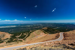 Pikes Peak Colorado Stock Image