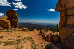 Pikes Peak Colorado Royalty Free Stock Photo