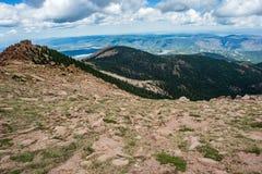 Pikes peak colorado rocky mountains Royalty Free Stock Image