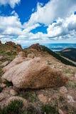 Pikes peak colorado rocky mountains Royalty Free Stock Images