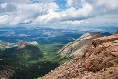 Pikes peak colorado rocky mountains Royalty Free Stock Photo