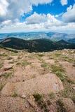 Pikes peak colorado rocky mountains Stock Image