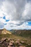Pikes peak colorado rocky mountains Stock Photography