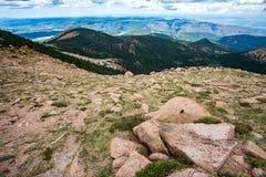 Pikes peak colorado rocky mountains Stock Images
