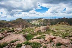 Pikes peak colorado rocky mountains Stock Photo