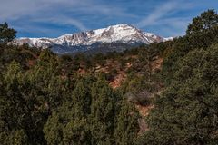 Colorado springs pikes peak rocky mountains adventure travel photography royalty free stock images