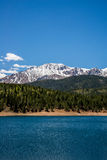 Pikes Peak Crystal Lake Stock Images