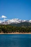 Pikes Peak Crystal Lake Stock Images